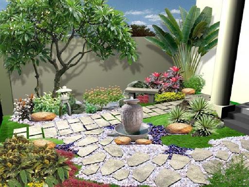 cây trồng bồn hoa trước nhà