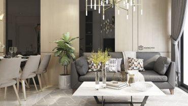cây cảnh phong thủy trong phòng khách