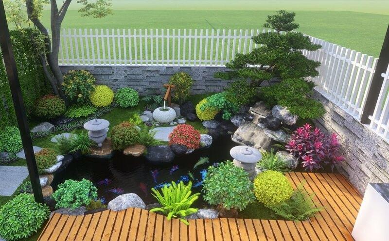 đá trang trí sân vườn